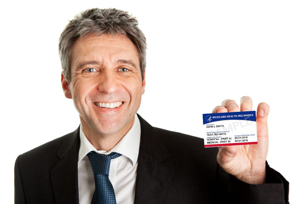 Man with Medicare Card