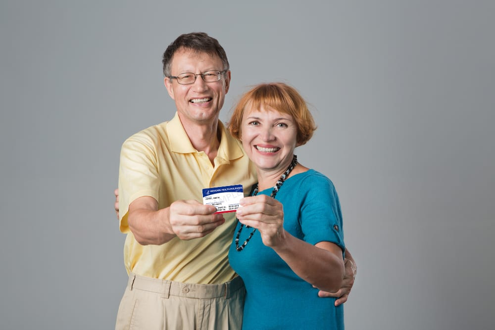 Couple with Medicare Card